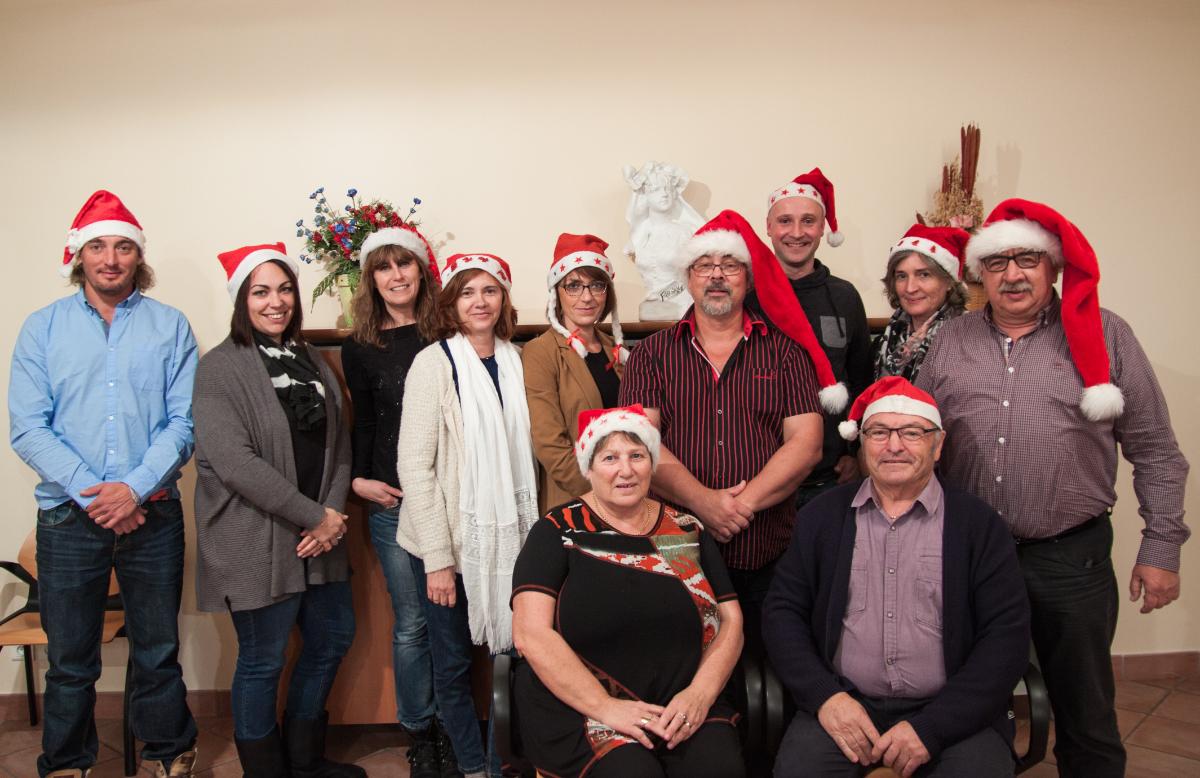 Les membres du CCAS de Montgaillard-Lauragais